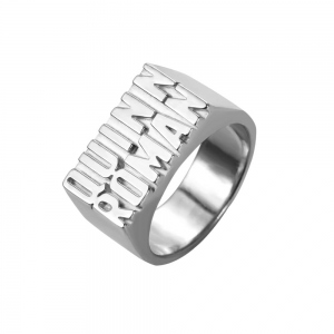 Personalized Unisex Ring with 2 Names