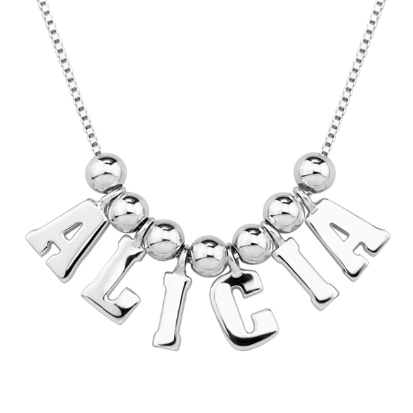 One & Only Name Necklace Personalized